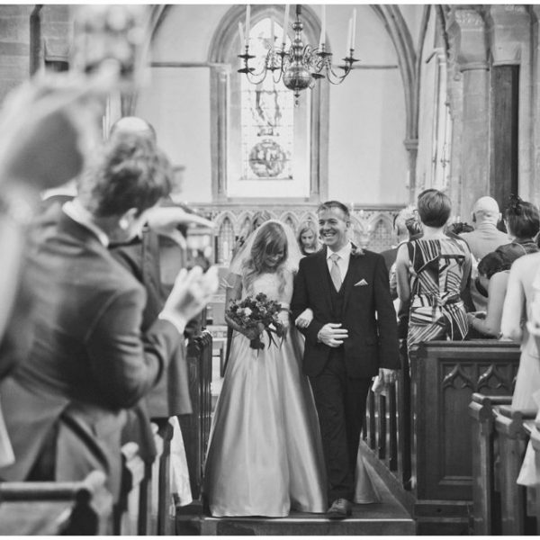 Oxford Church and Marquee Summer Wedding | Sarah & David