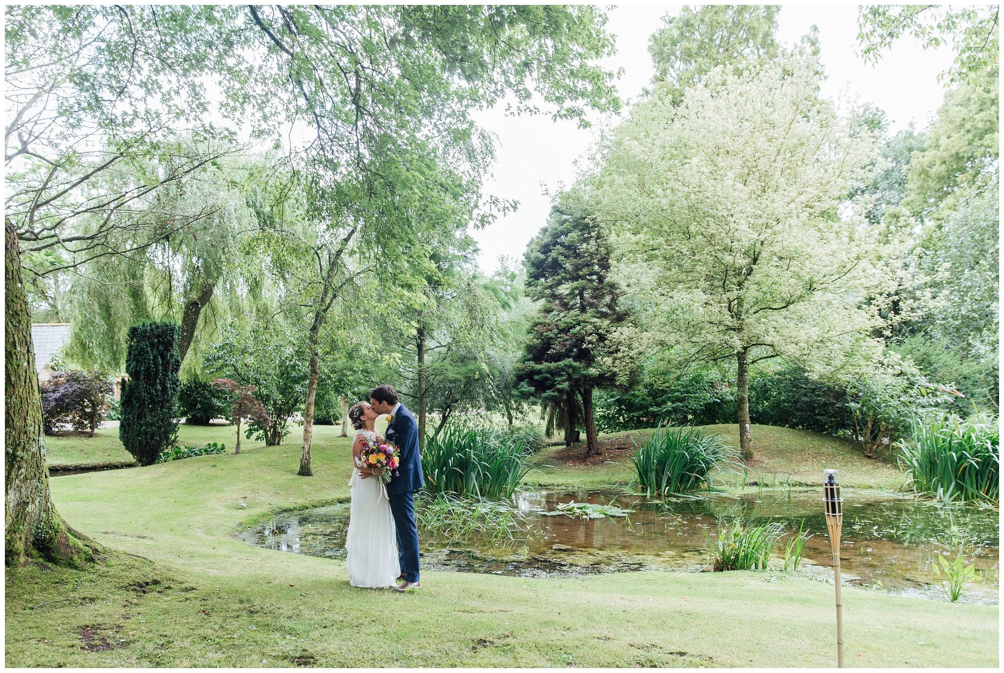 romantic dorset wedding