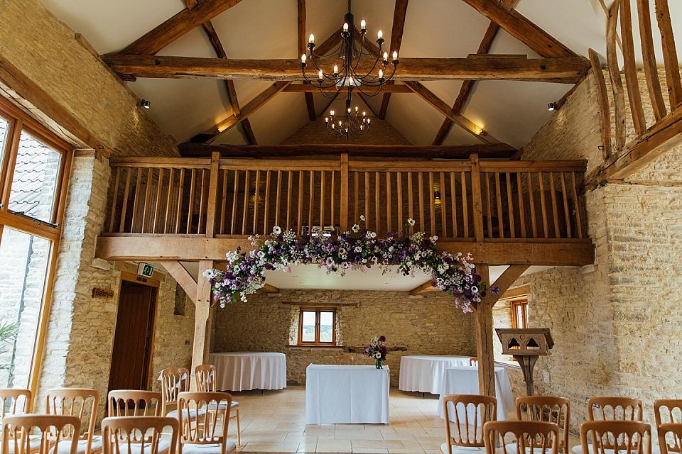 Kingscote Barn Ceremony Room