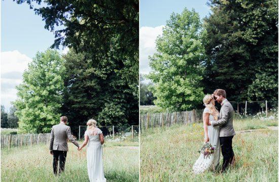 Romantic Backgarden Wedding