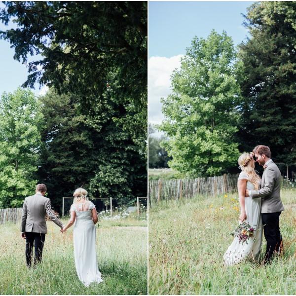 A Boho Outdoor Wedding in Salisbury