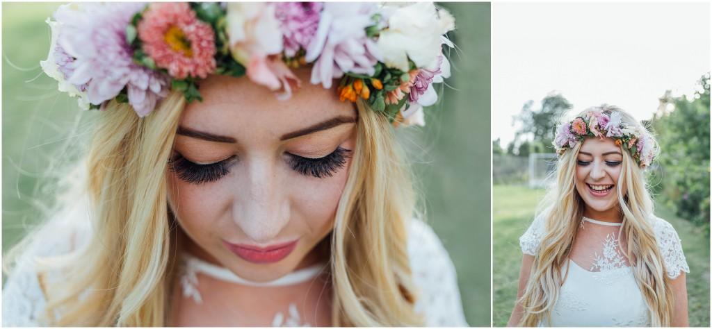 a boho bride