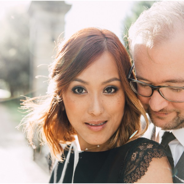 A Glamourous French Engagement Shoot