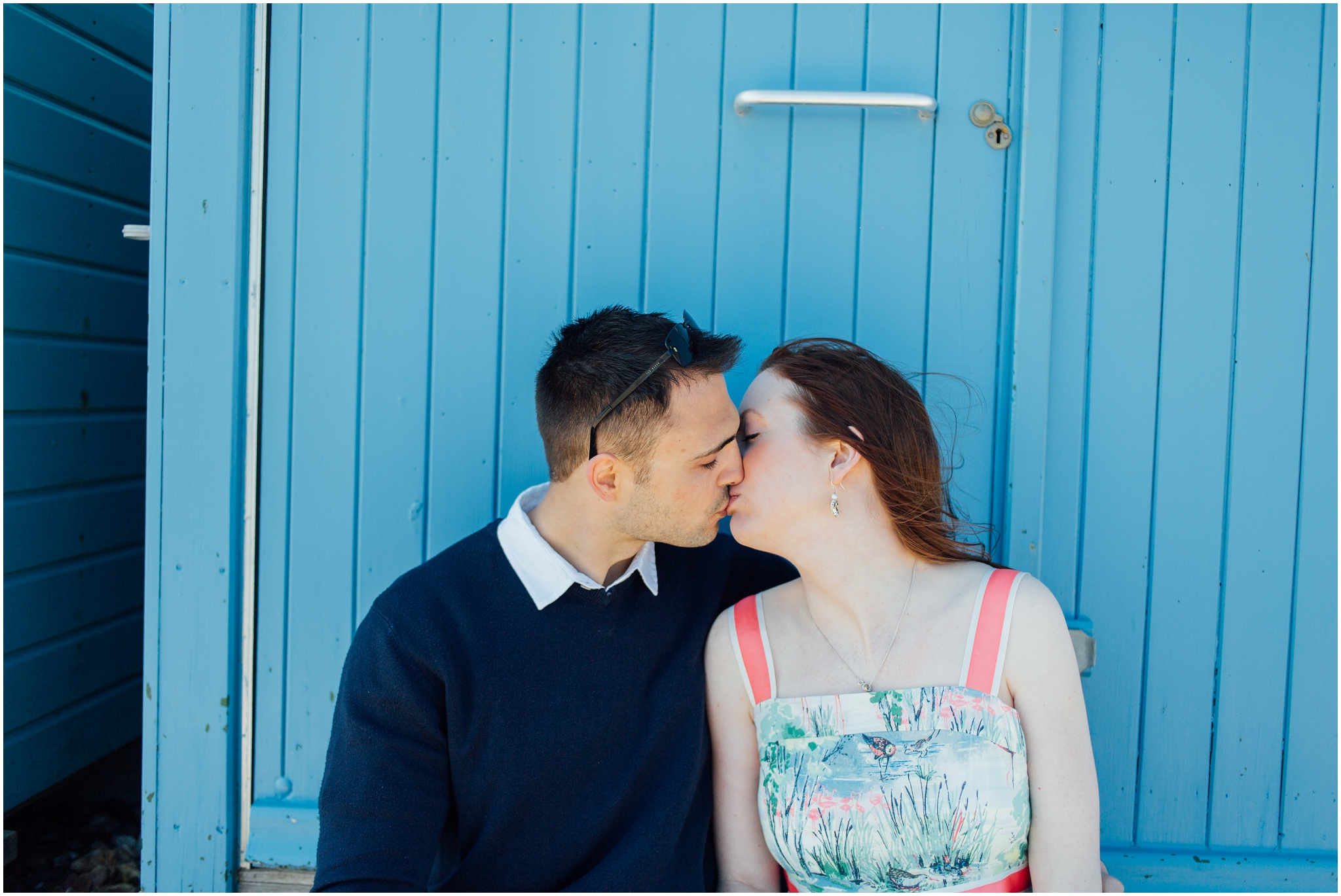 Beach Hut Engagament