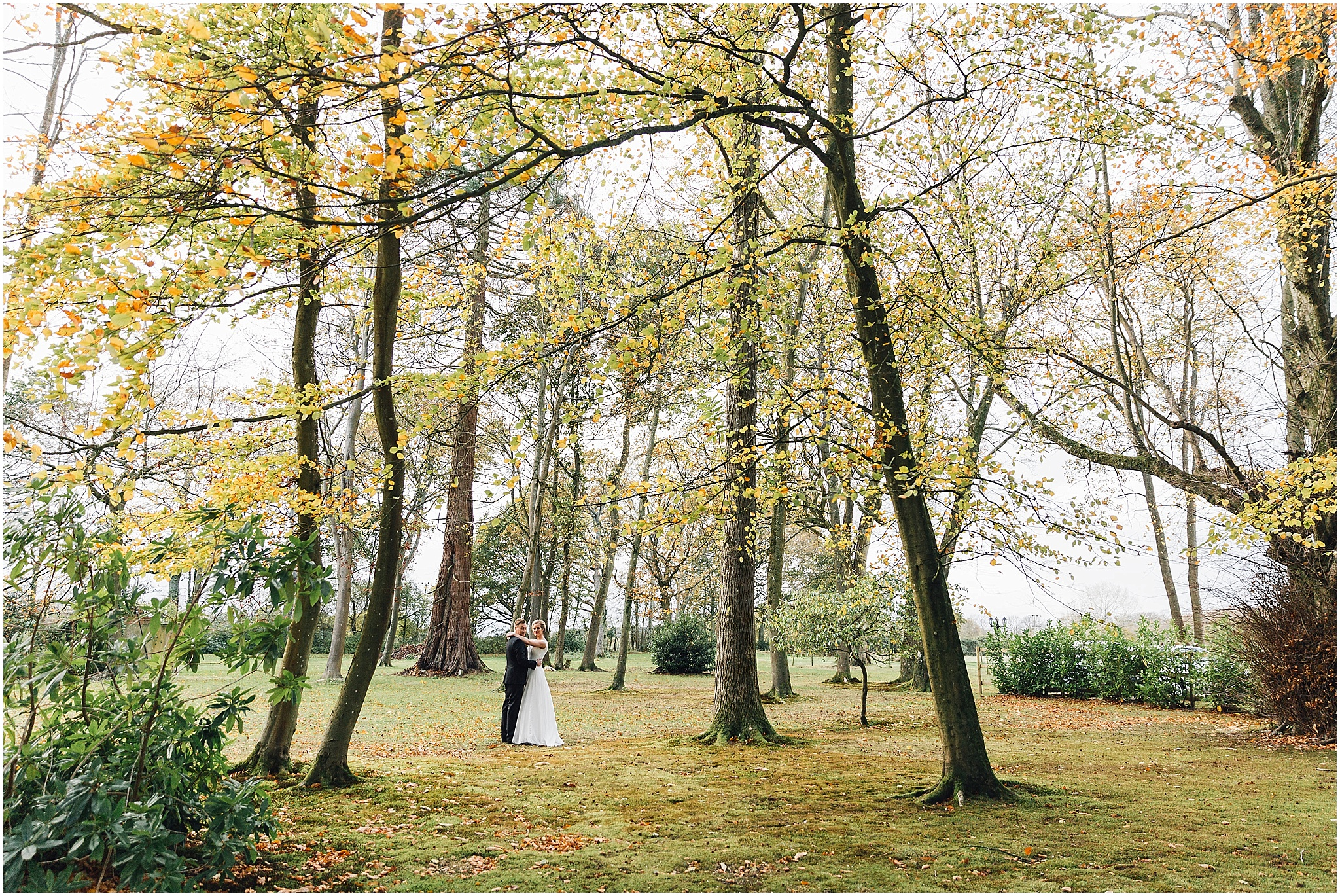 Outdoor Hampshire Wedding