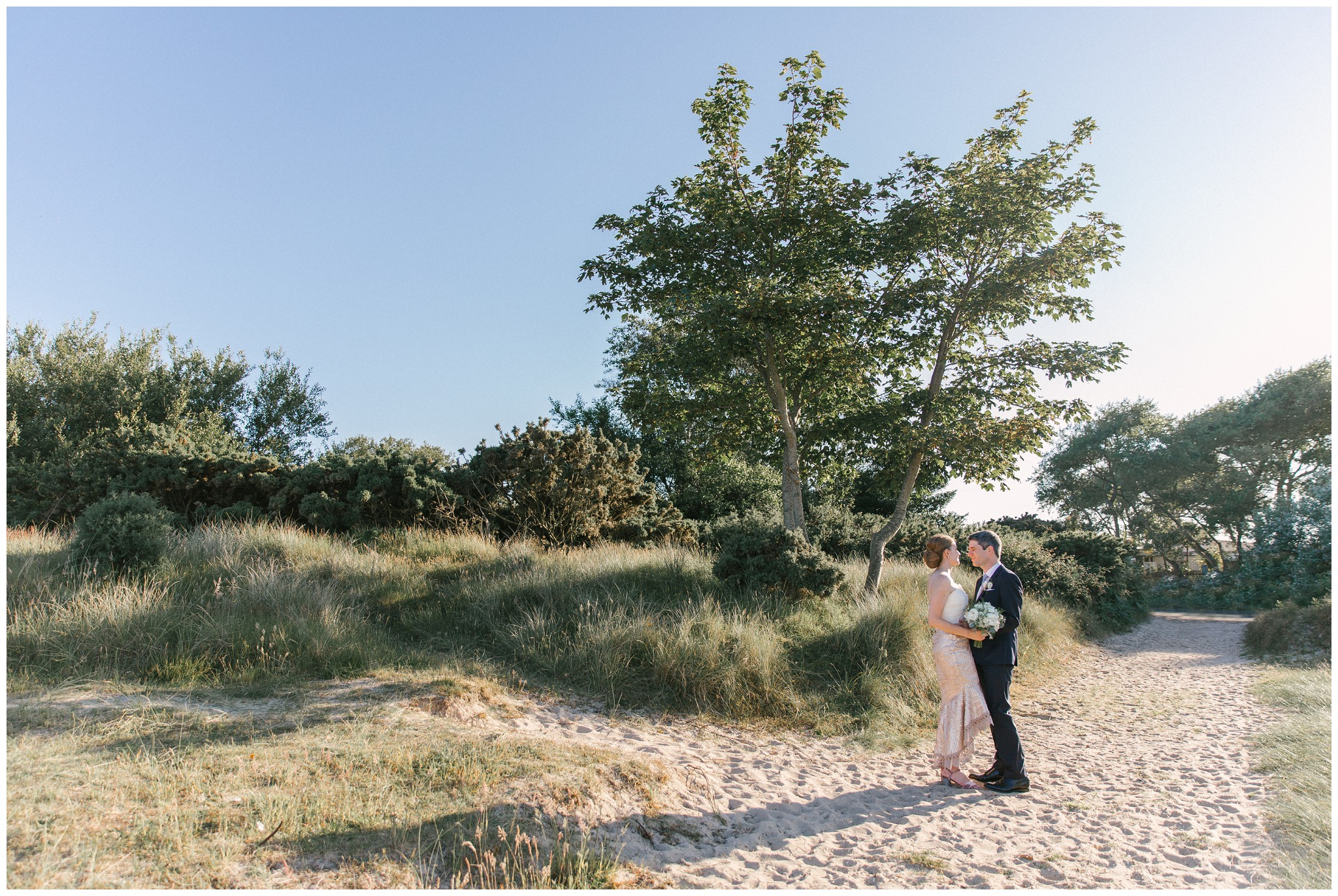 UK Beach Wedding Photography
