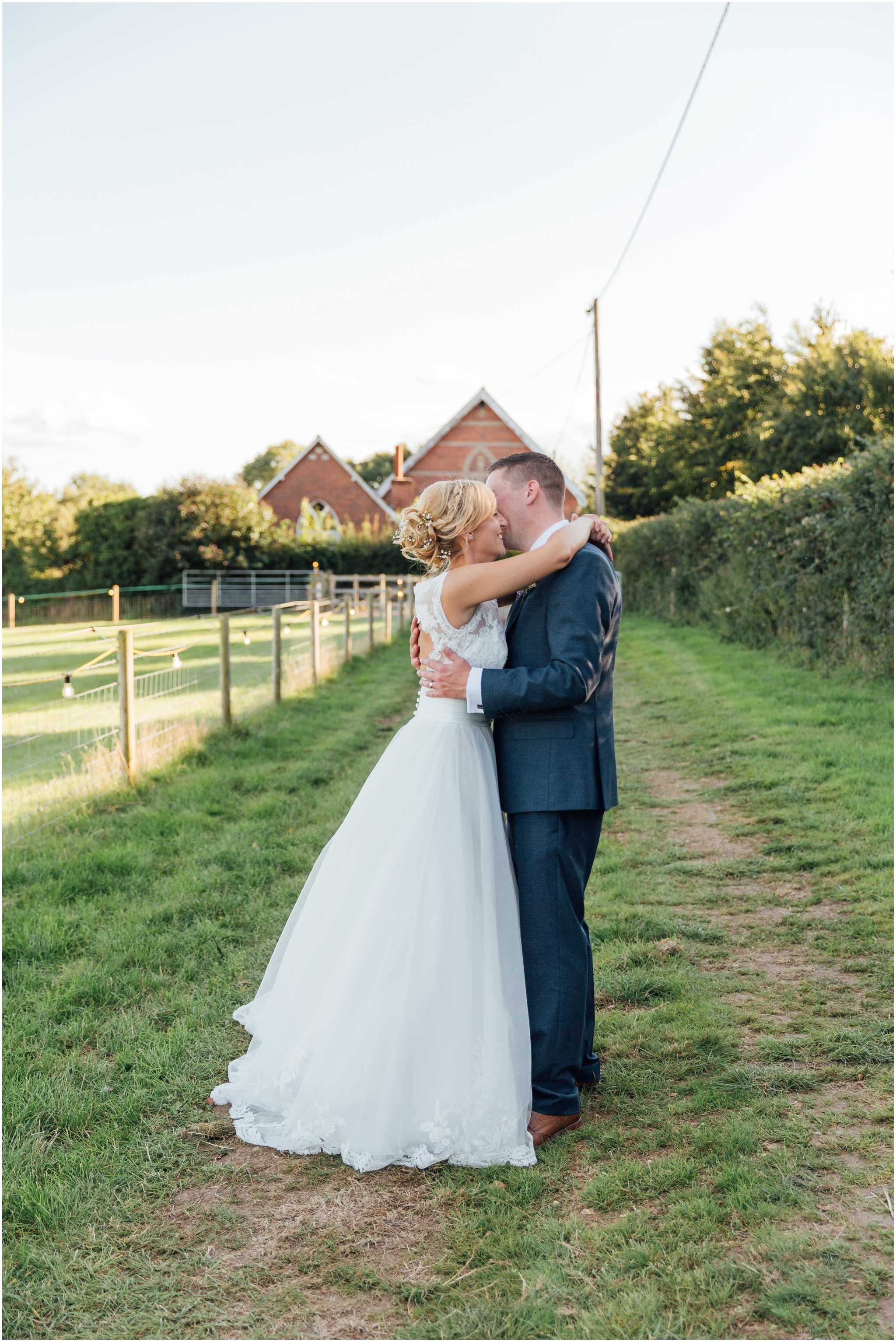 romantic outdoor dorset wedding
