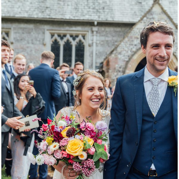 A Stunning Backgarden Wedding | Sophia and James