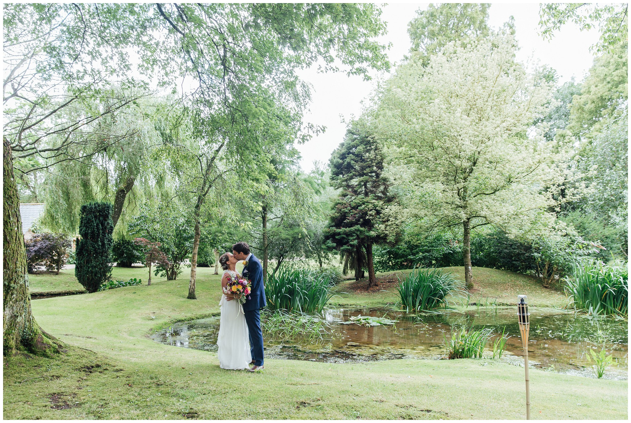 romantic dorset wedding