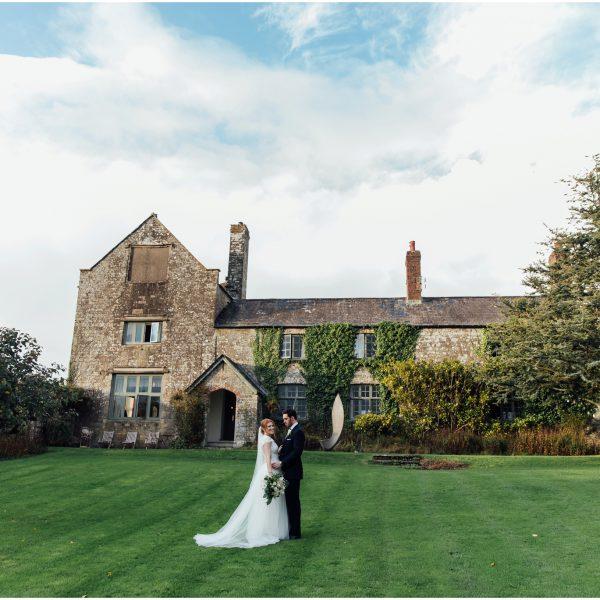 Candelit Ceremony, Autumnal Wedding   Ash Barton Estate Daniel & Abby