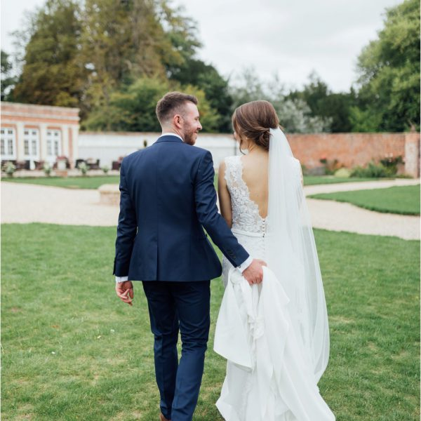 Romantic, Natural Wedding Photography at Orchardleigh Estate, The Walled Garden Wedding