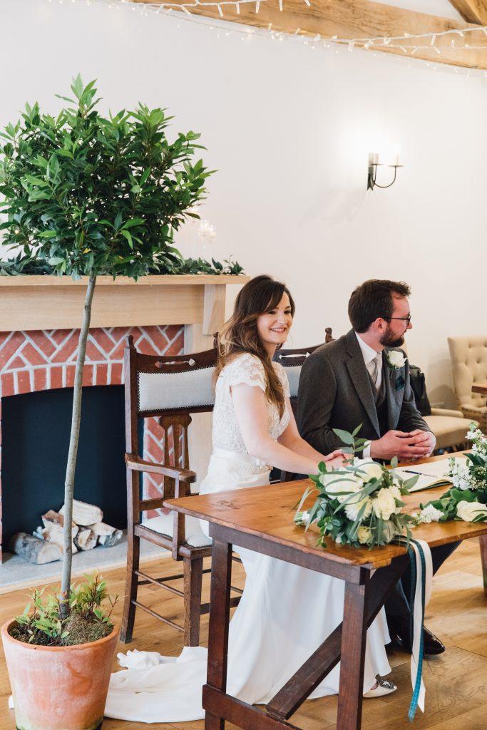 Intimate Wedding Hampshire